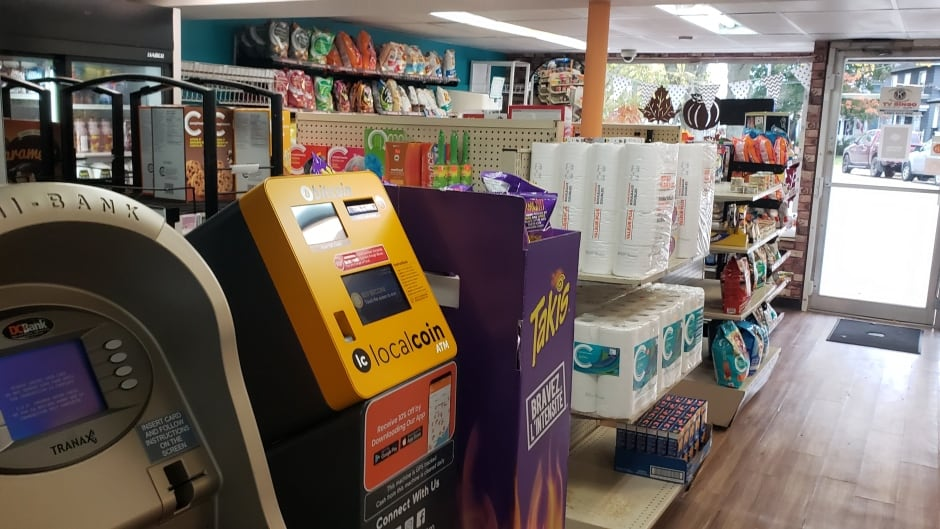 cbc.ca - Christian Roach - Down the aisle, past the pet food is Cape Breton's first bitcoin ATM