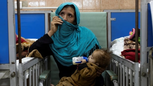 'Children are going to die', UN agency warns as Afghanistan verges on collapse