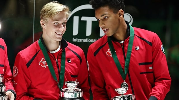 World top-15 players Auger-Aliassime, Shapovalov to lead Canada at Davis Cup