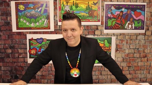 Cree artist helps Edmonton Oilers craft Indigenous land acknowledgment | CBC News