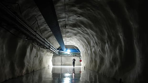 SNOLAB is a physics lab located two kilometres underground near Sudbury, Ont.