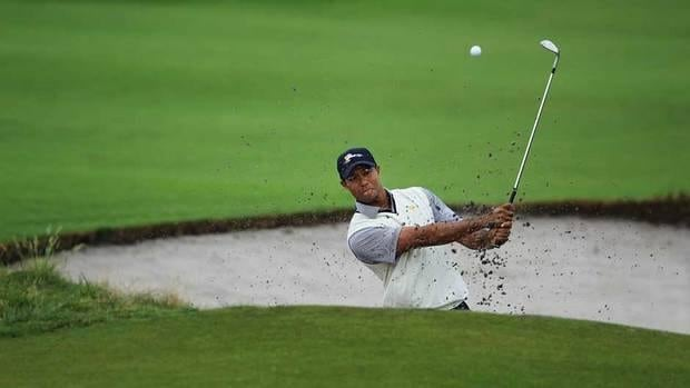 Tiger Woods hits his tee shot on the seventh hole during the first round of the WGC-Cadillac Championship at the Trump Doral Golf Resort & Spa on Thursday in Miami, Fla.